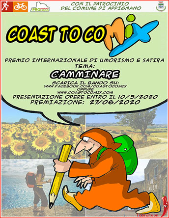 Photo of جشنواره بین المللی کارتون COAST TO COMIX ایتالیا ۲۰۲۰
