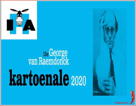 Photo of ۱۴ مین جشنواره بین المللی کارتون GEORGE VAN RAEMDONCK بلژیک ۲۰۲۰