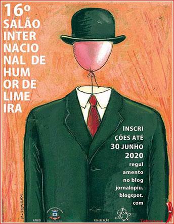 Photo of ۱۶ مین جشنواره بین المللی کارتون LIMEIRA برزیل ۲۰۲۰