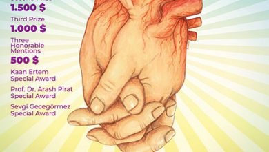 دومین رقابت کارتون ORGAN DONATION ترکیه 2021 انجمن هنرهای تجسمی استان اردبیل
