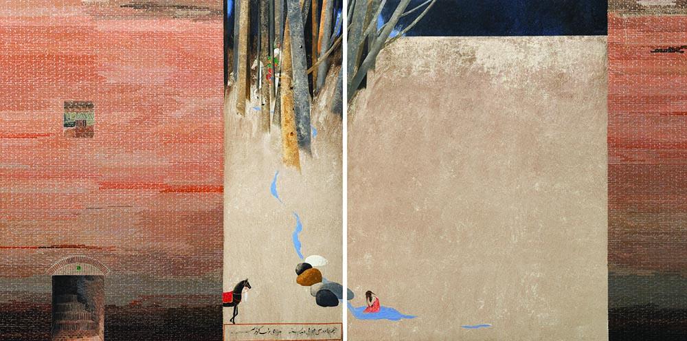 فروش آثار هنرمندان اردبیل در چهاردهمین حراج تهران انجمن هنرهای تجسمی استان اردبیل