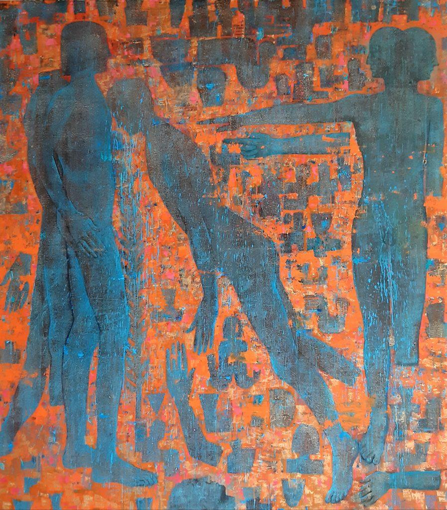 هر شب با یک هنرمند، معرفی و آثار داور یوسفی انجمن هنرهای تجسمی استان اردبیل