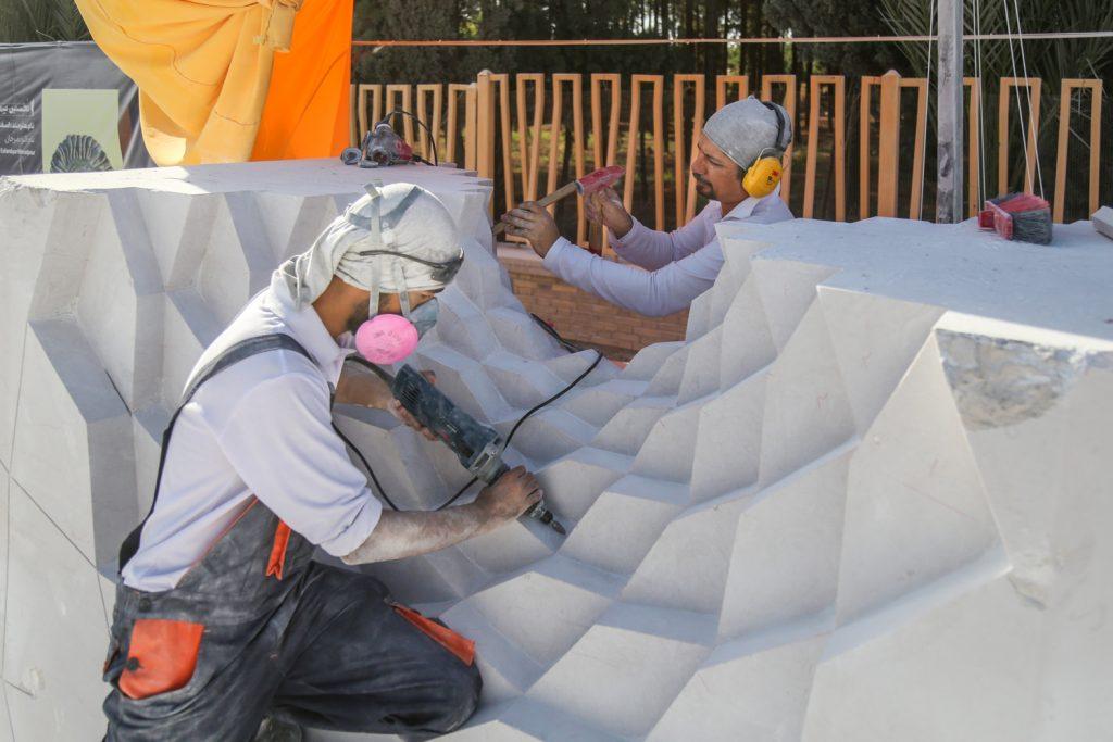 نخستین سمپوزیوم مجسمهسازی گلگهر به کار خود پایان داد   انجمن هنرهای تجسمی استان اردبیل ـ جامعه تخصصی هنرهای تجسمی