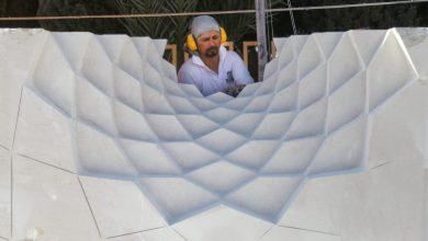 نخستین سمپوزیوم مجسمهسازی گلگهر به کار خود پایان داد | انجمن هنرهای تجسمی استان اردبیل ـ جامعه تخصصی هنرهای تجسمی